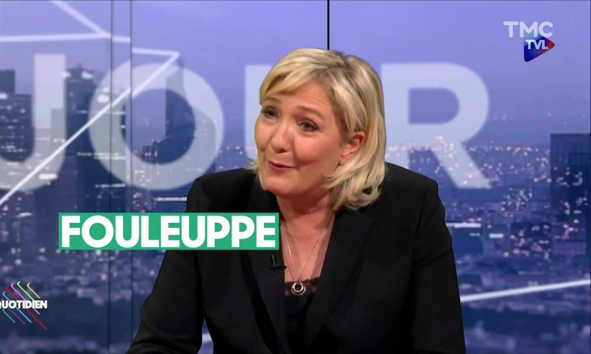 L'image du jour de Paul : Différence de niveau d'anglais entre Marion Maréchal Le Pen et Marine Le Pen