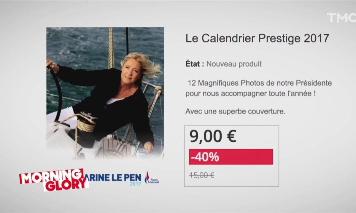 Marine Le Pen aussi a des produits dérivés à son effigie