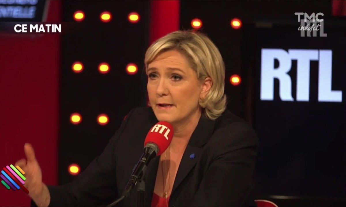 """Marine Le Pen et la stratégie de la peur des """"autres""""..."""