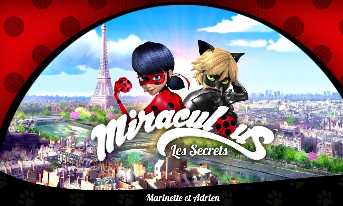 Miraculous Les secrets - EP2 - Marinette et Adrien