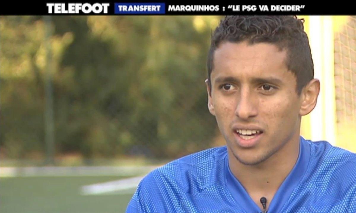 "Transfert - Marquinhos : ""Le PSG va décider"""