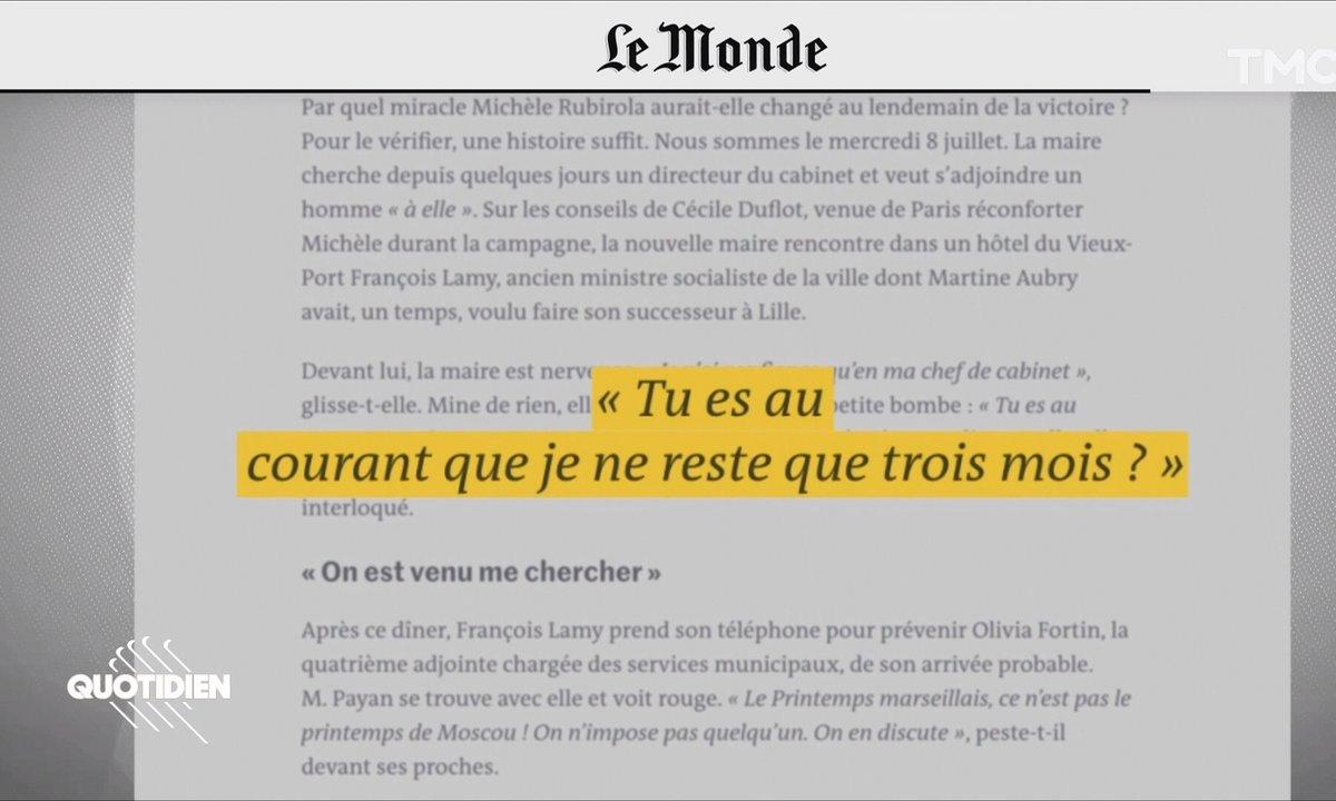 Marseille : Michèle Rubirola veut-elle déjà démissionner ?