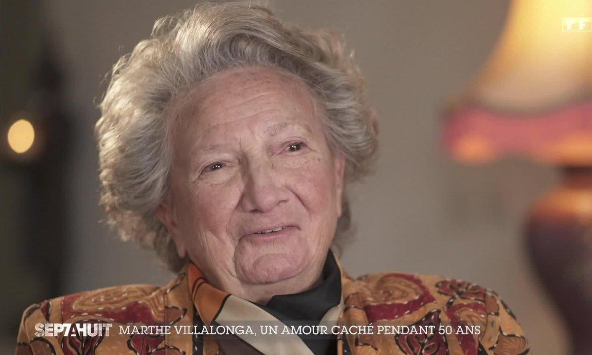 Marthe Villalonga, un amour caché pendant 50 ans