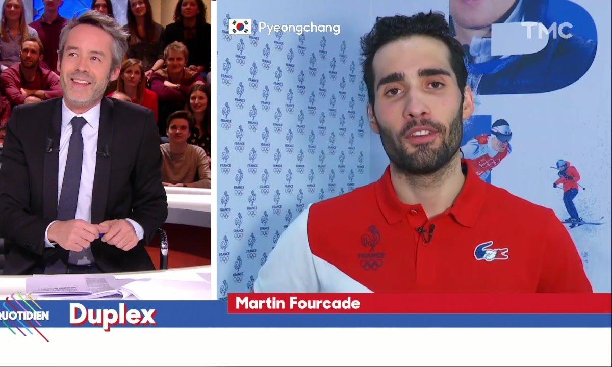 Martin Fourcade agacé par des tentatives de récupération politique