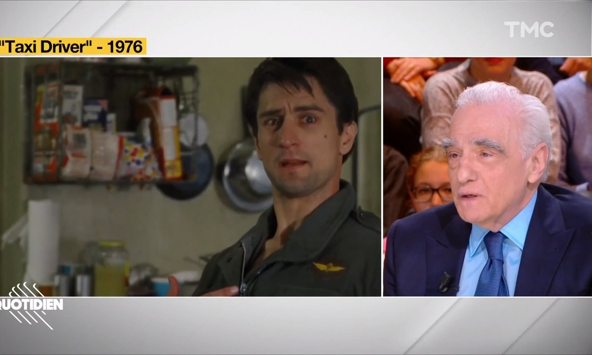 "Martin Scorsese revient sur l'origine de la réplique culte ""Are you talkin' to me ?"" de Taxi Driver"