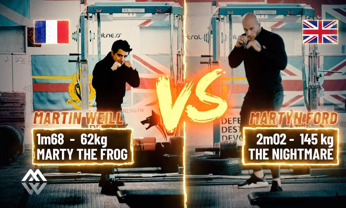 Martin Weill vs Monsieur Muscle : bienvenue chez les surhommes