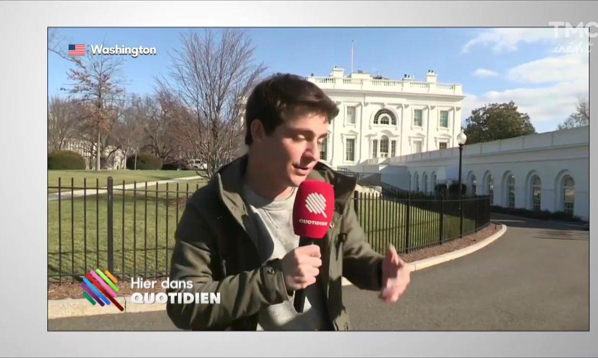 """Martin Weill : """"c'est la pagaille à la Maison blanche"""""""