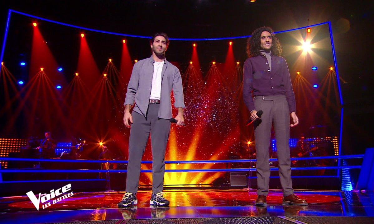 The Voice 2021 – Marvin VS Wahil chantent « L'envie d'aimer » de Daniel Lévi
