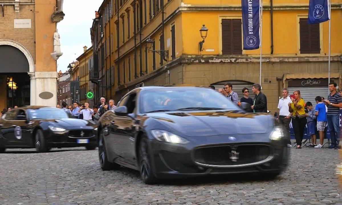 Teaser : Automoto célèbre les 100 ans de Maserati