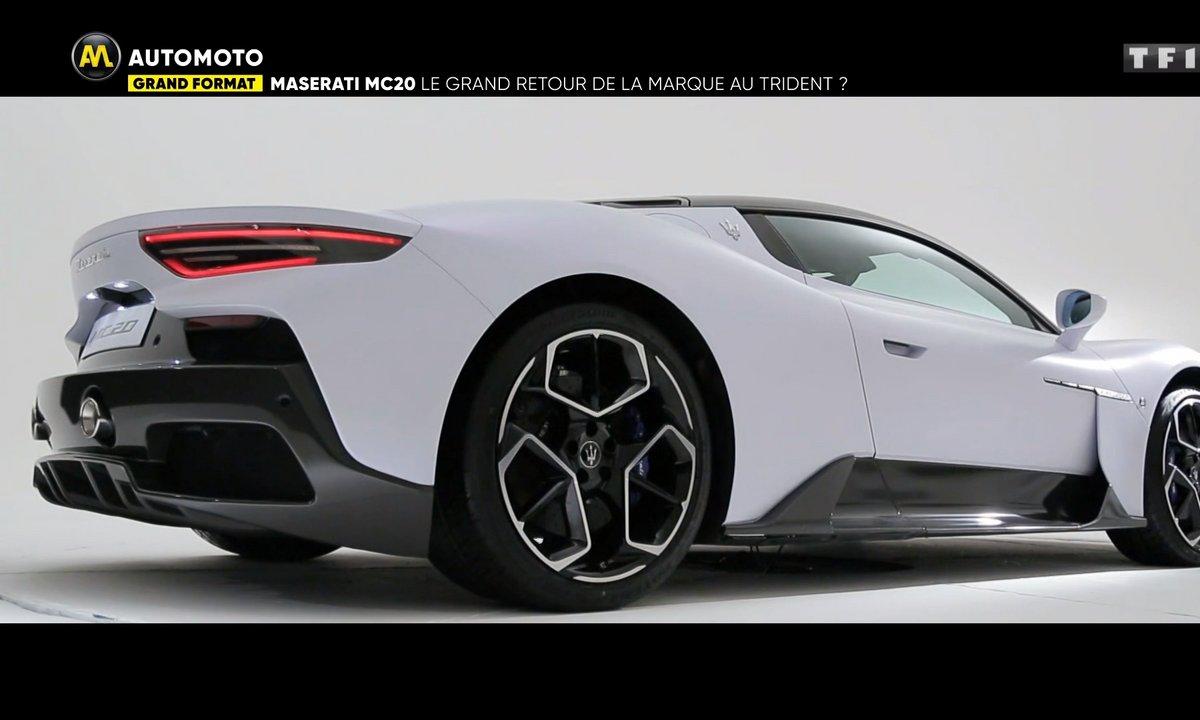 Grand Format : Maserati MC20, le grand retour de la marque au trident ?