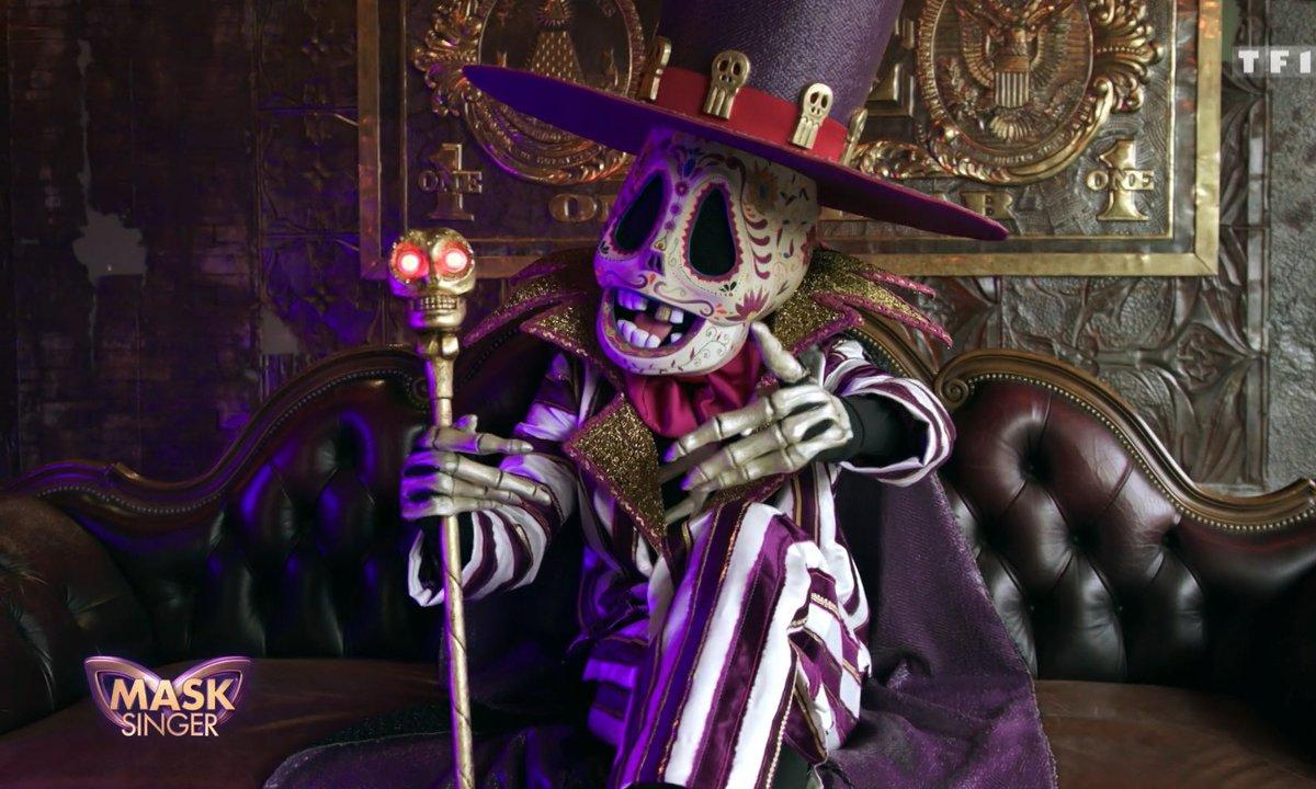 Mask Singer - Indices : Squelette (Emission 3)