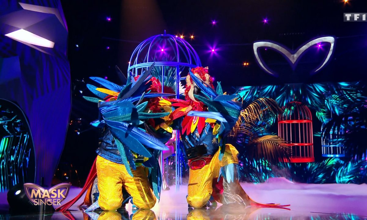 Mask Singer - Perroquets chantent « Yesterday » de The Beatles