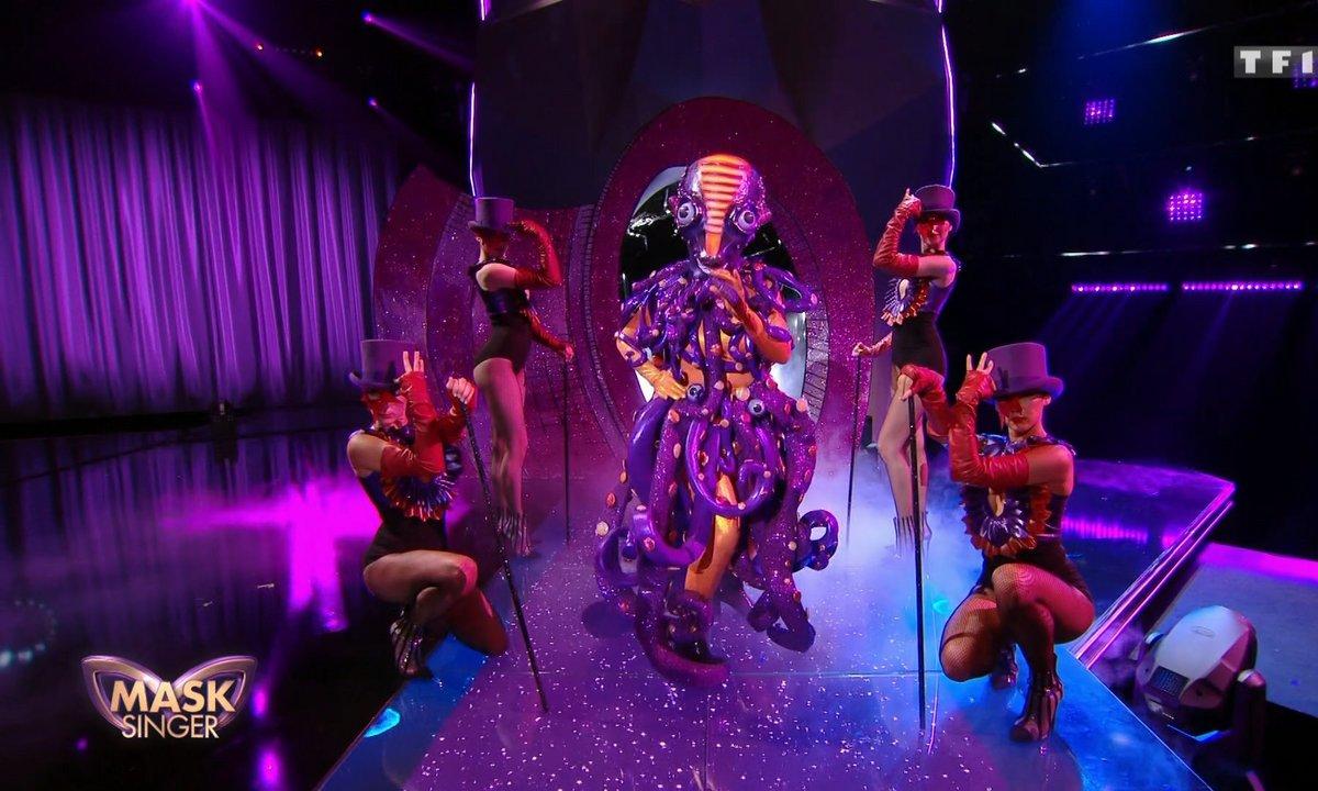 Mask Singer - Pieuvre chante « The Greatest Show » de Hugh Jackman