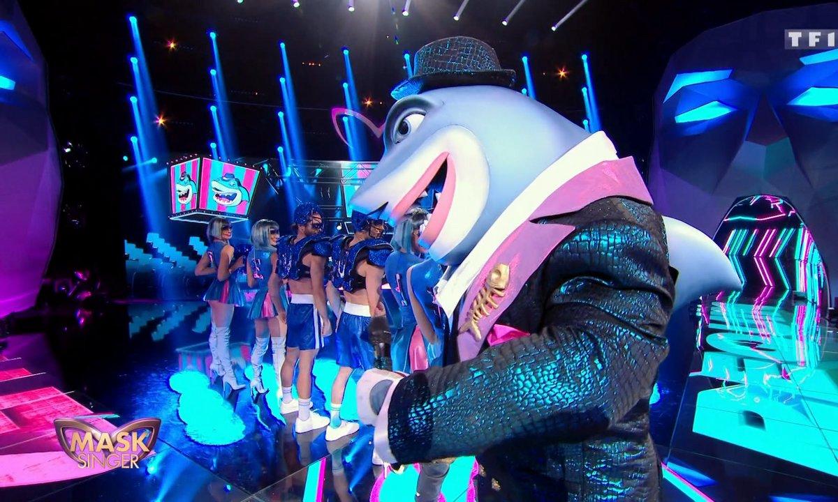 Mask Singer - Requin chante « Le Coach » de Soprano