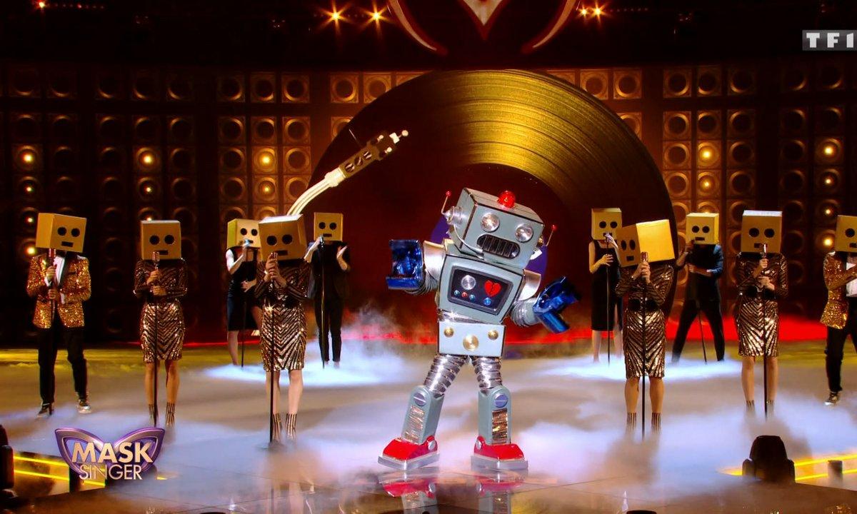 Mask Singer - Robot chante « SoulMan » de Ben l'Oncle Soul