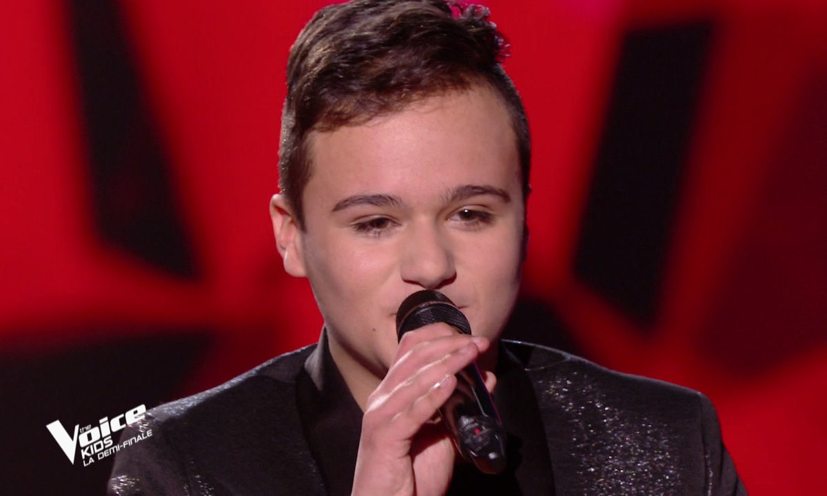 The Voice Kids : Mathias chante « Earth song » d'Amel Bent (Team Amel Bent)