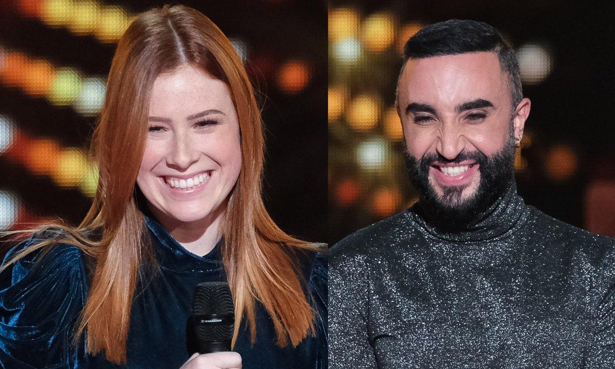 """THE VOICE 2020 - Margau VS Matteo chantent """"Ce rêve bleu"""" de Daniel Lévi, Karine Costa & Paolo Domingo"""