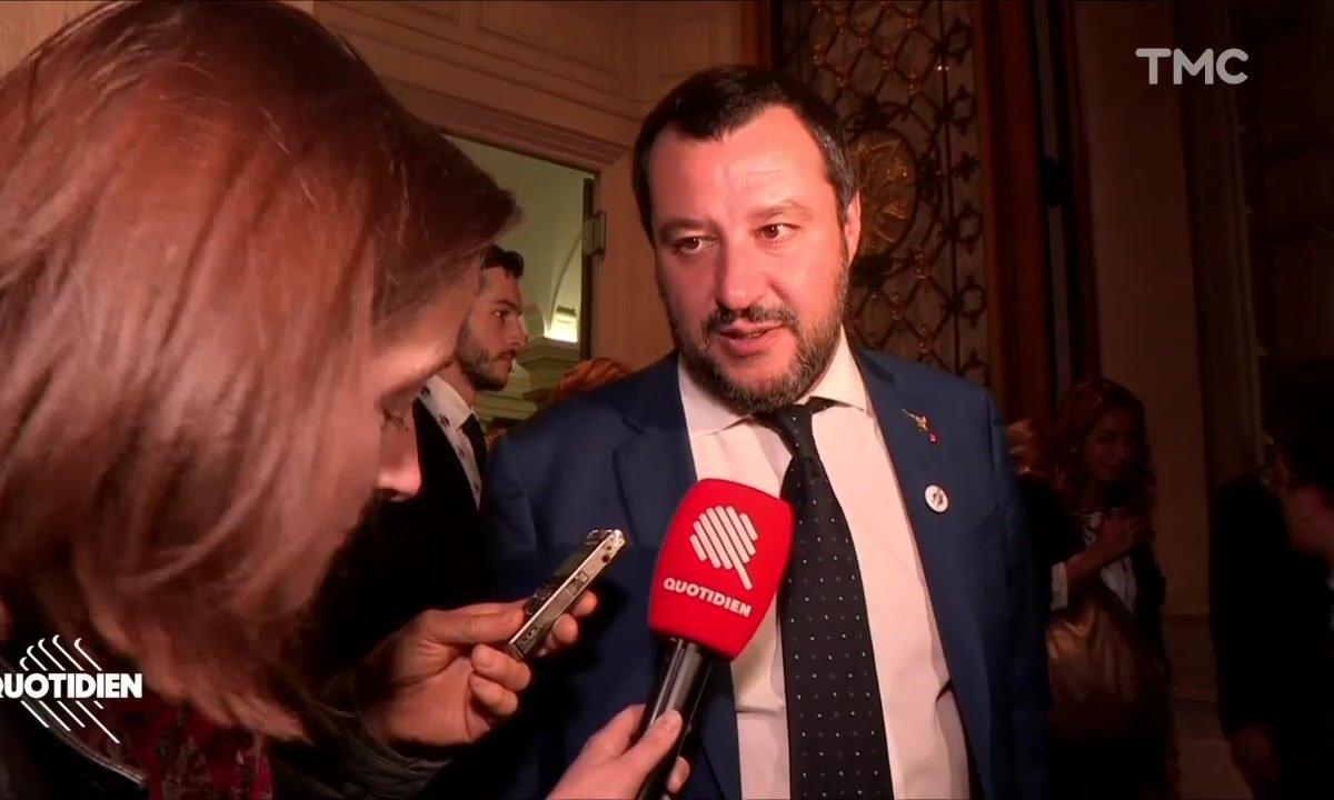 """Matteo Salvini  sur l'Aquarius: """"Les ONG devraient arrêter de débarquer leurs cargaisons"""""""