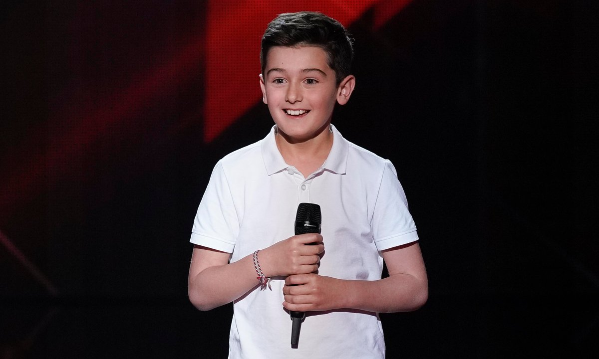 "The Voice Kids 2020 - Maxime chante ""Tant con me quedara"" de Jordi Barre"
