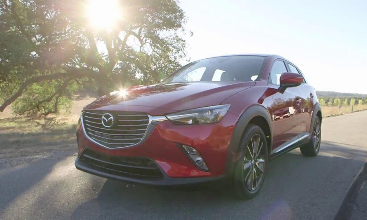 Mazda CX-3 2015 : présentation officielle en vidéo