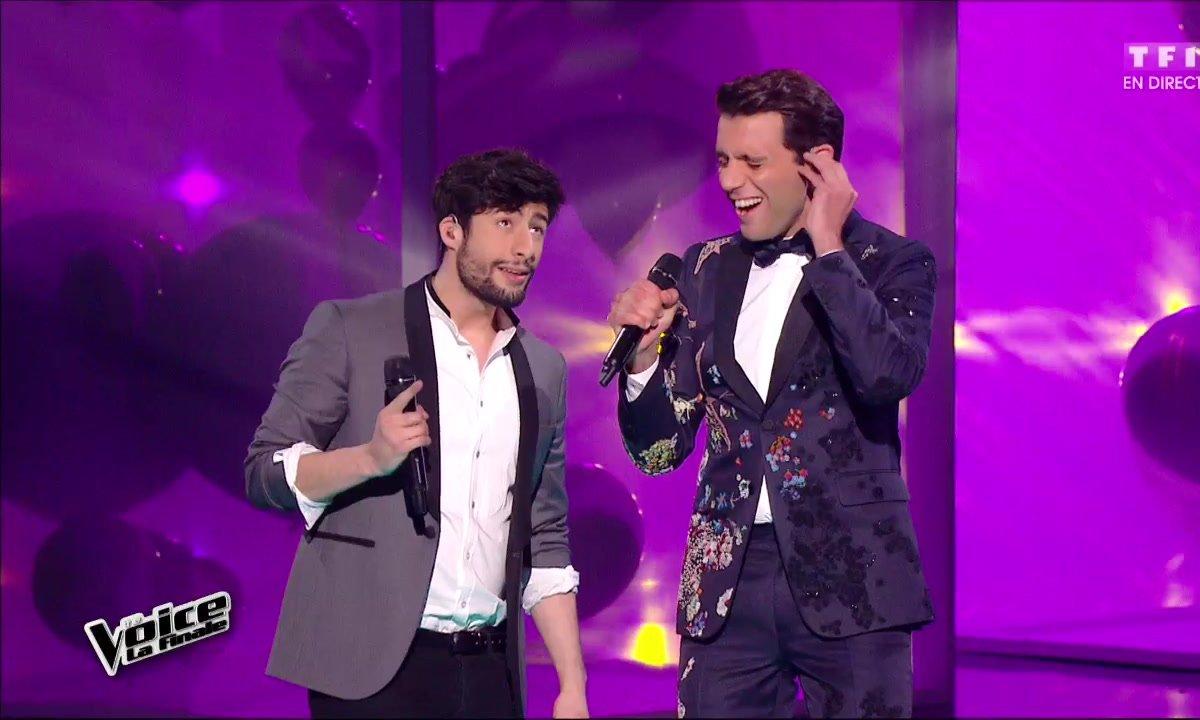 MB14 et Mika réunis en direct pour chanter « Happy Ending » lors de la finale (Saison 05)