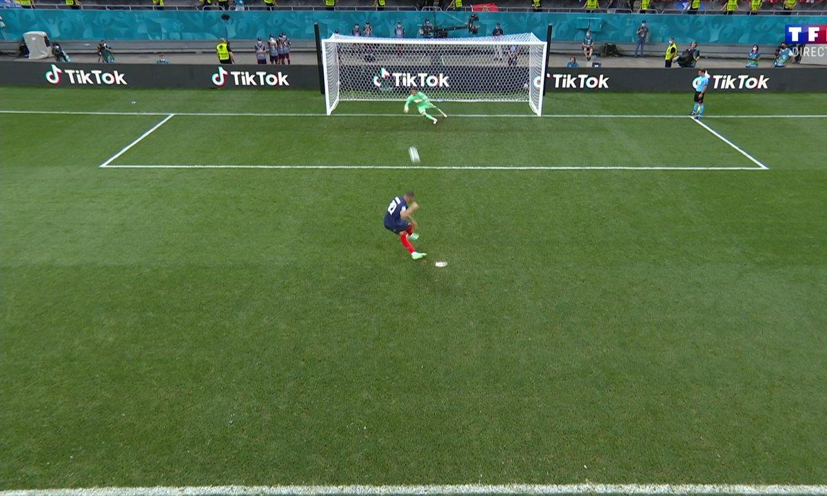 France - Suisse (3 - 3) : Voir le tir au but raté de Mbappé en vidéo