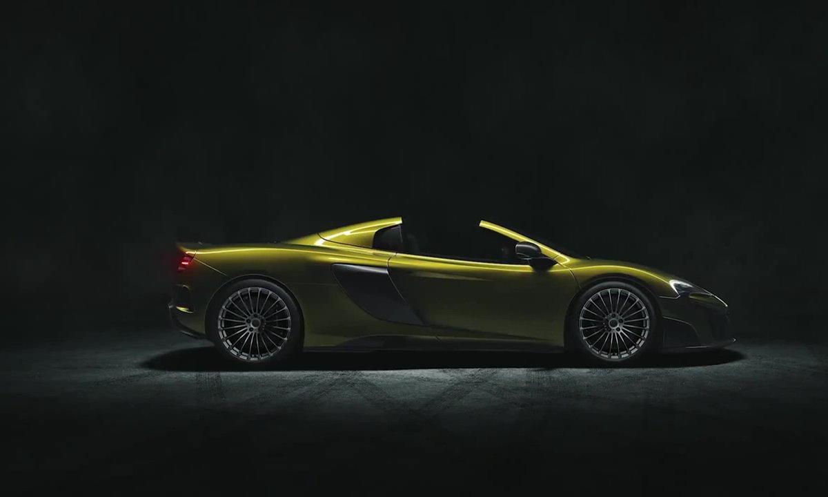 McLaren 675LT Spider 2016 : présentation officielle