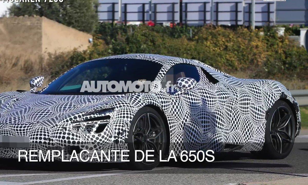 La future McLaren 720S 2017 en scoop