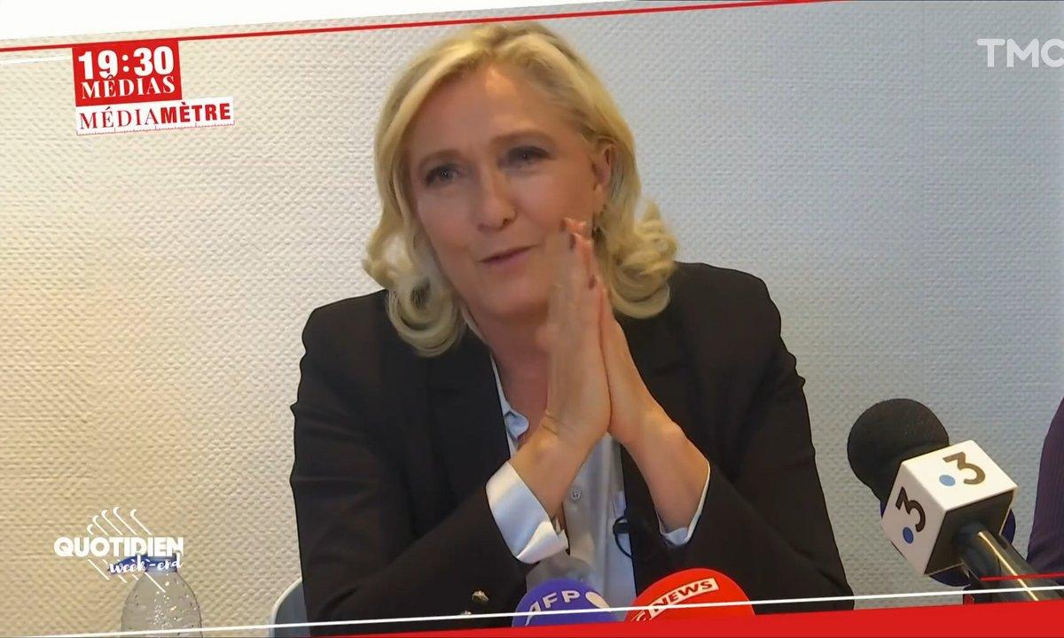 Médiamètre : Marine Le Pen a-t-elle déjà perdu 2022 ?