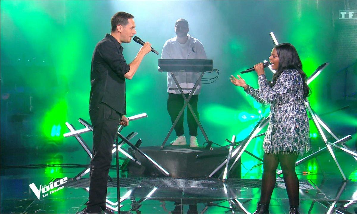 """The Voice 2021 – Mentissa et Grand Corps Malade chantent """"Derrière le brouillard"""" (Finale)"""