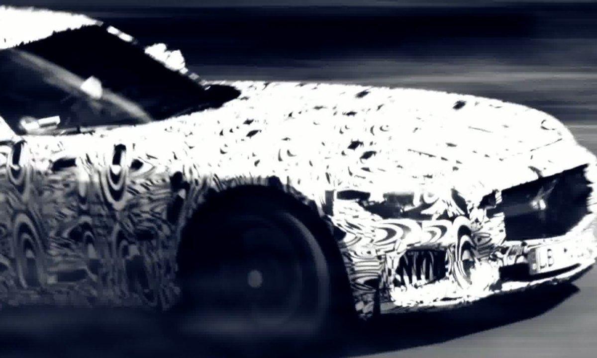Mercedes-AMG GT 2015 : le teaser