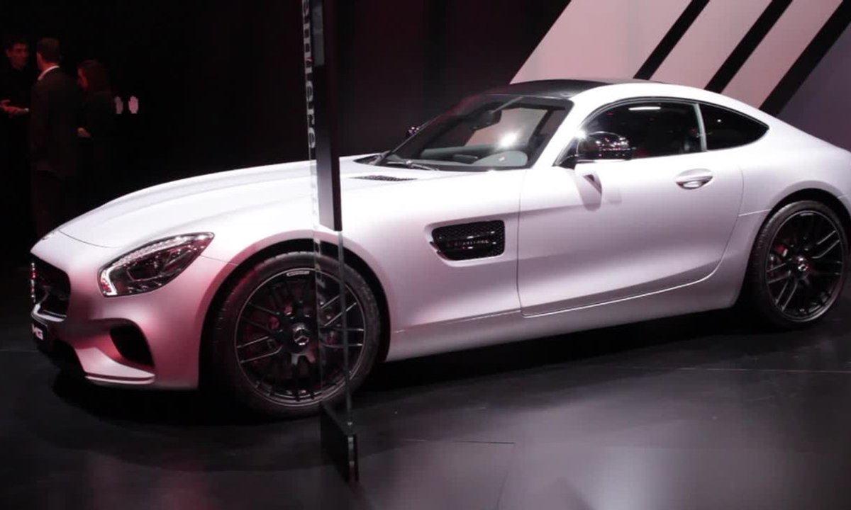 Mercedes-AMG GT, le canon de beauté allemand - Mondial de l'Automobile 2014