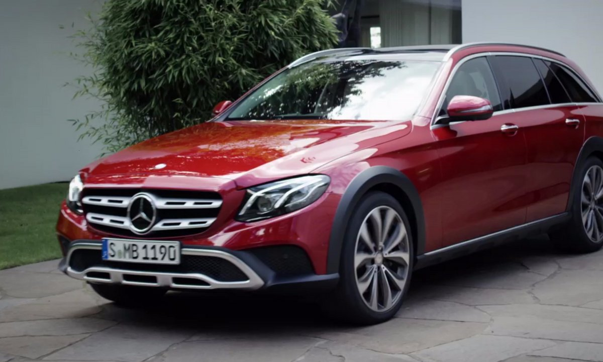 Mercedes-Benz Classe E All-Terrain 2016 : présentation officielle