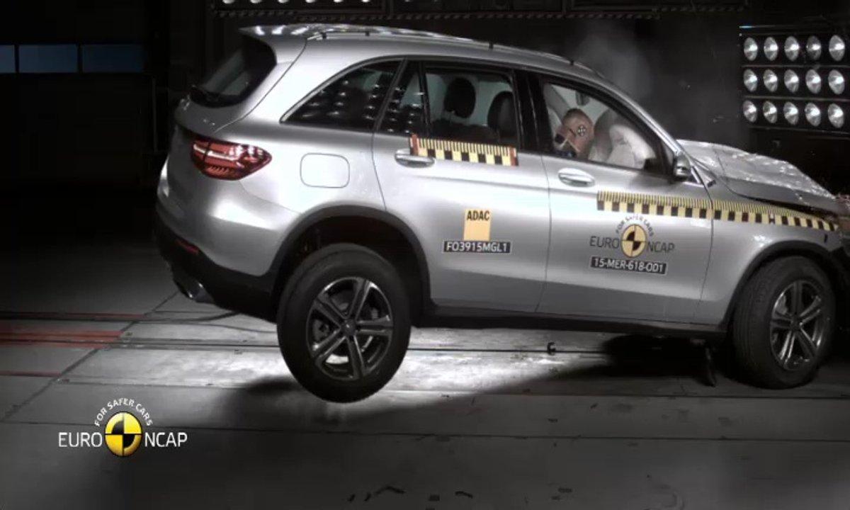 La Mercedes-Benz GLC 2015 au crash-test EuroNCAP