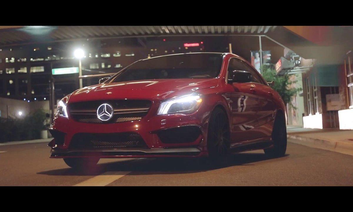 La Mercedes CLA 45 AMG vu par le préparateur RevoZport