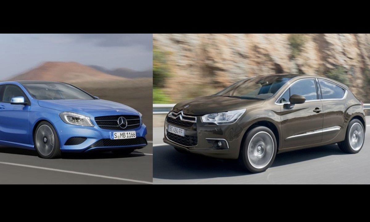 Essai Duel: Mercedes Classe A et Citroën DS4, deux compactes désirables