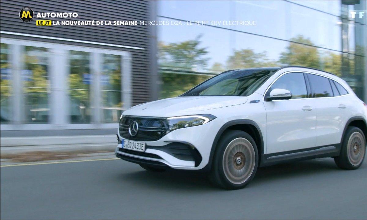 VIDEO - Mercedes EQA, le petit SUV 100% électrique