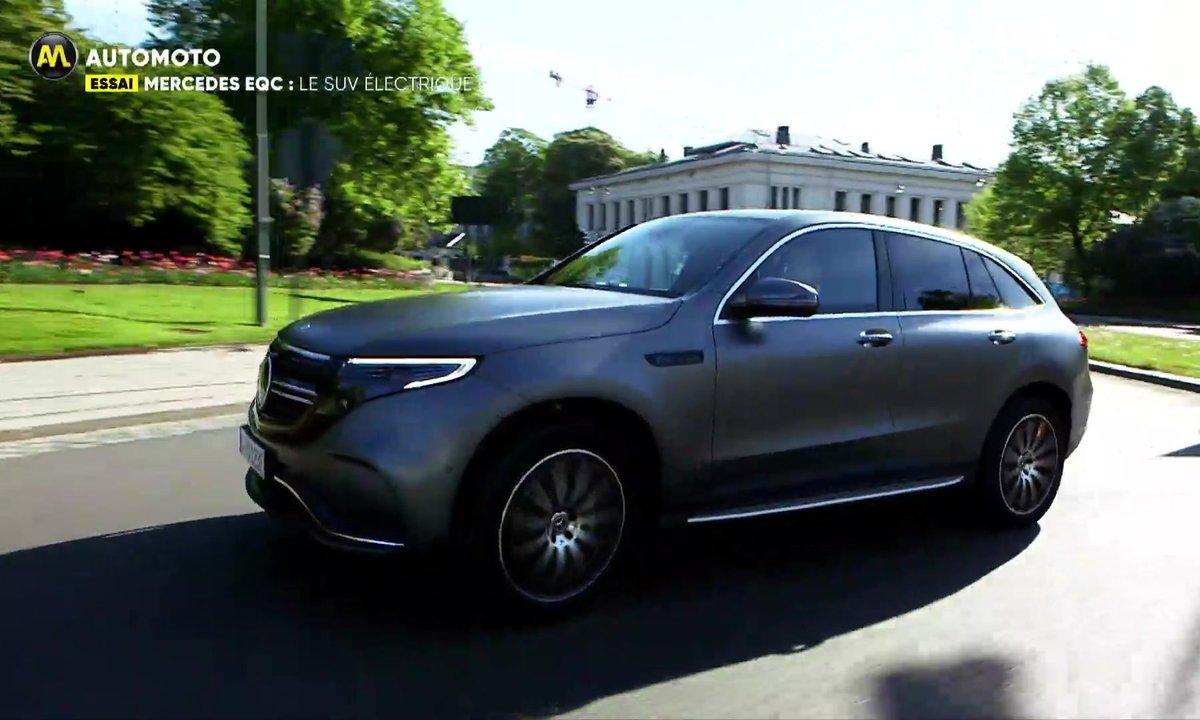Essai Mercedes EQC : Le SUV Electrique étoilé !