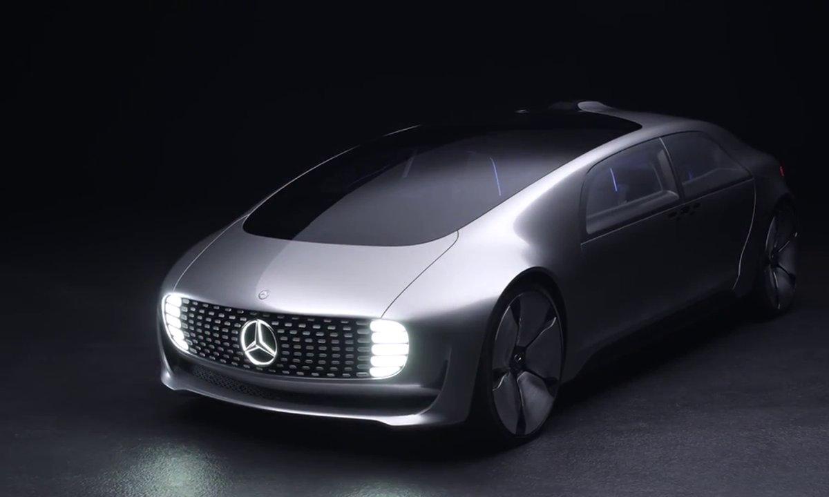 Mercedes F 015 Concept : Présentation officielle en vidéo