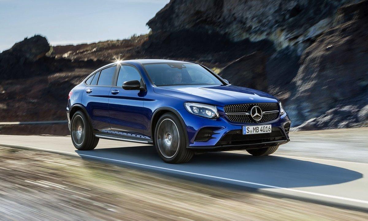 Mercedes GLC Coupé : présentation officielle