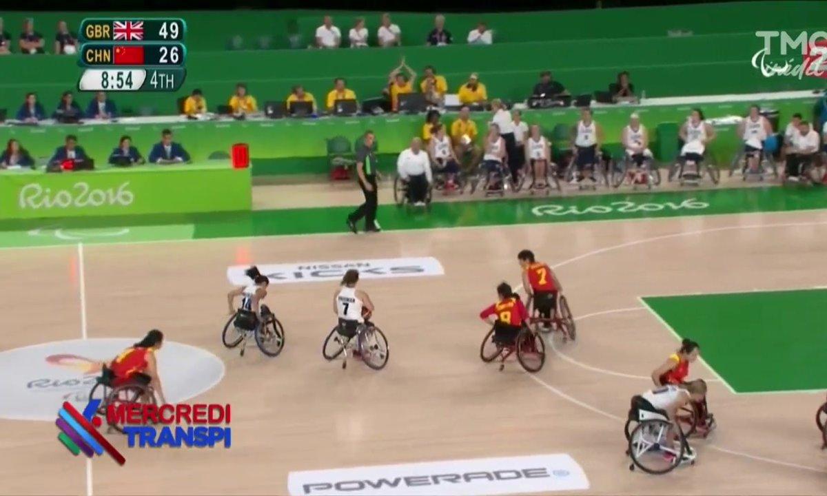 """Mercredi Transpi : """"ça ne marche pas"""" au basket paralympique"""
