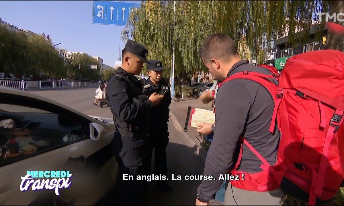Mercredi Transpi : ce moment où ils sont cru que la police chinoise les aidait à gagner Pékin Express