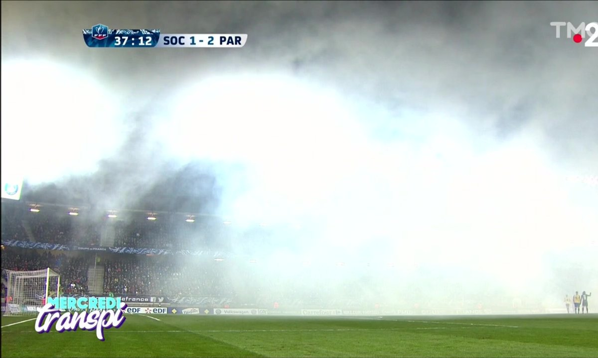 Mercredi Transpi : des fumigènes pour le match Sochaux – PSG