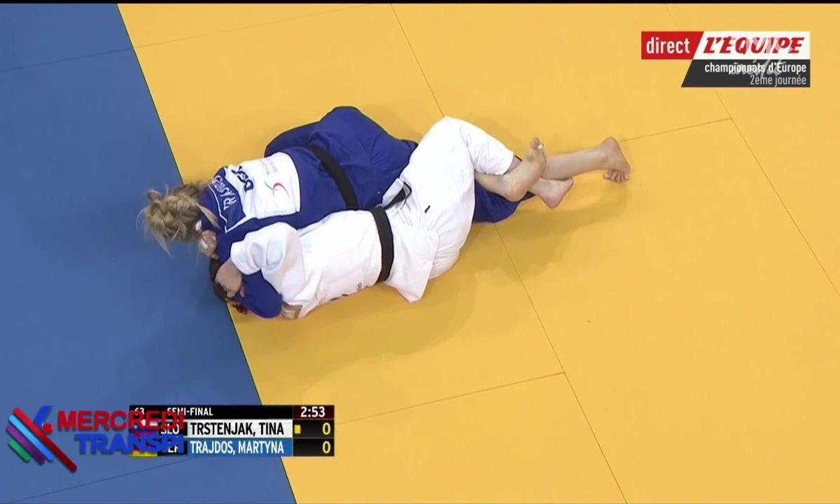 Mercredi transpi :les plus gros câlins du monde sont au championnat d'Europe de judo