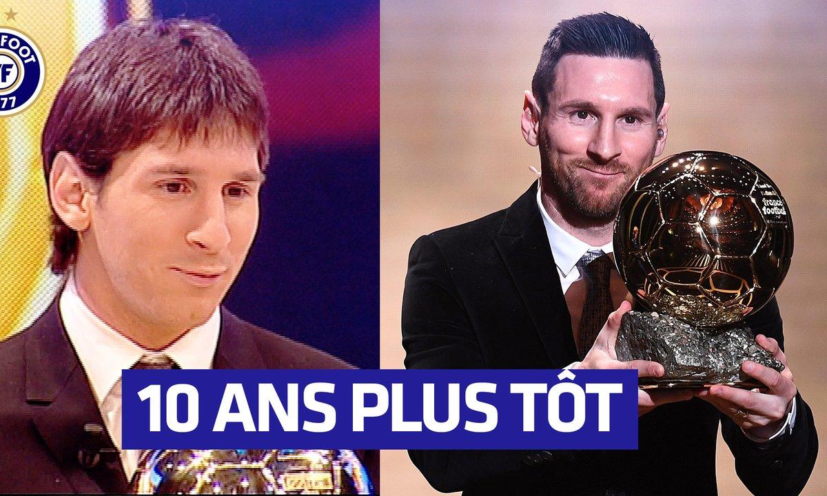 Quand Lionel Messi recevait son premier Ballon d'Or