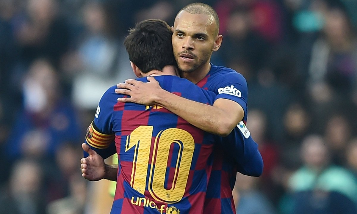 VIDEO - Martin Braithwaite veut le n°10 de Messi