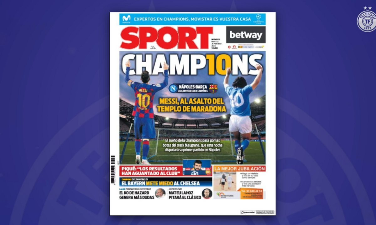 L'avant match Naples Barcelone a fait resurgir le débat Messi vs Maradona