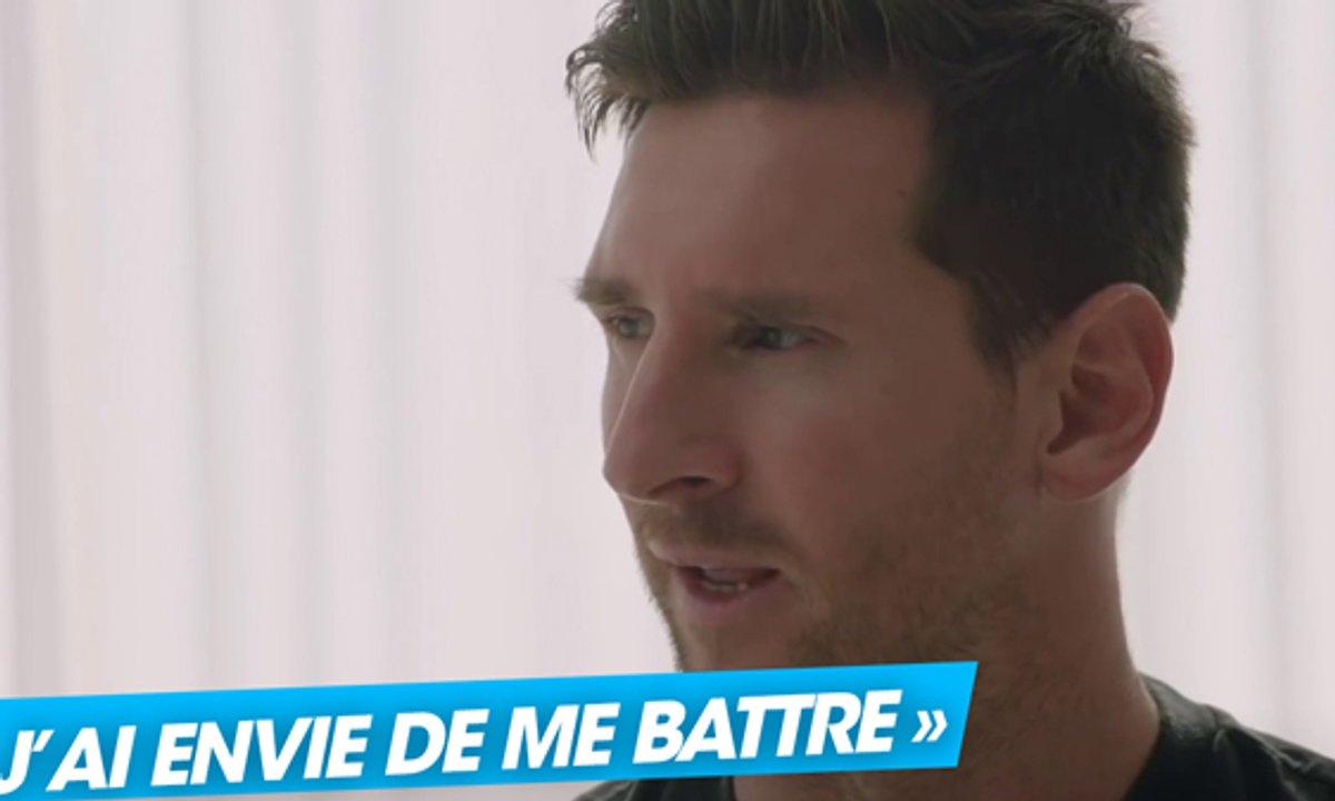 """VIDEO - Messi : """"J'ai envie de me battre"""""""