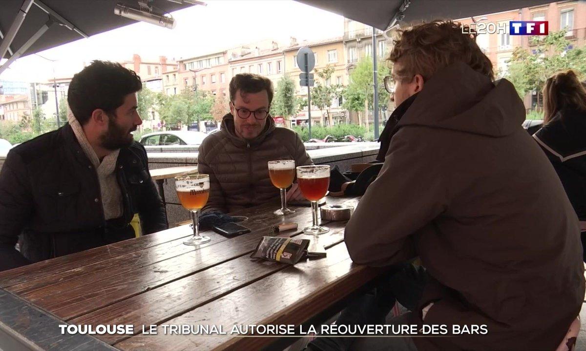 Mesures sanitaires : le tribunal autorise la réouverture des bars à Toulouse