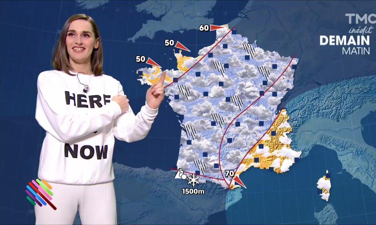 La météo du 10 janvier by Yelle